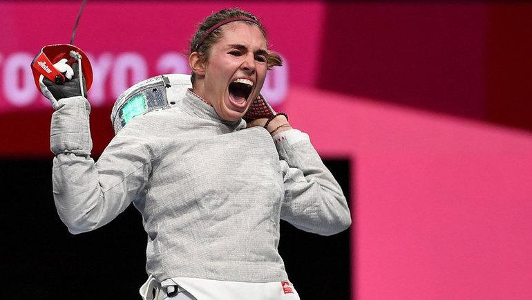 София Позднякова. Фото AFP