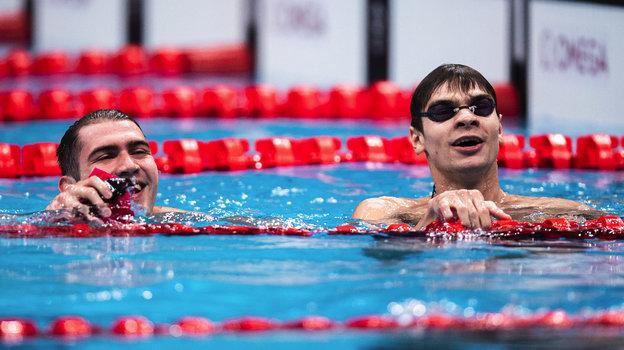 Олимпийские игры вТокио. Плавание. Двойная победа Рылова иКолесникова надистанции 100 метров наспине. Как это было