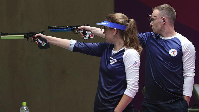 Виталина Бацарашкина иАртем Черноусов. Фото Getty Images