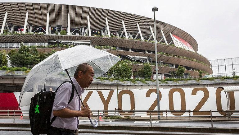 НаТокио обрушился тайфун вовремя проведения Олимпийских игр. Фото Getty Images