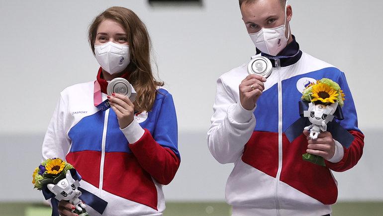 Виталина Бацарашкина иАртем Черноусов. Фото Reuters