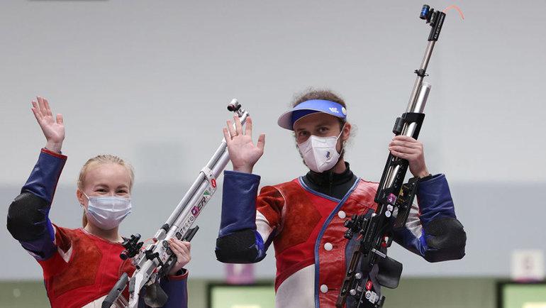 Юлия Каримова и Сергей Каменский. Фото Getty Images