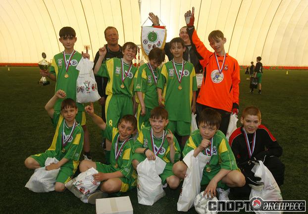 Ребята Салтыковского детского дома - победители соревнования.