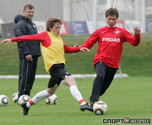 Жано Ананидзе и Александр Шешуков.