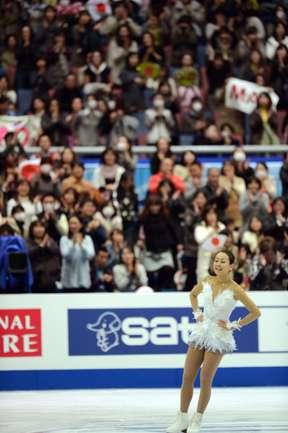 Мао Осада победила на соревновании в Осаке.