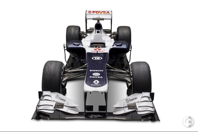 "Новый болид команды ""Формулы-1"" ""Уильямс"" - FW35. Фото williamsf1.com."