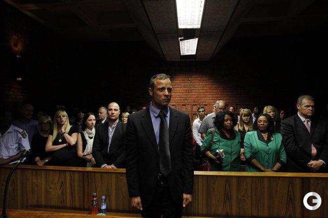 Оскар Писториус в суде 19 февраля.
