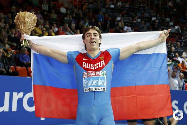 Шубенков финишировал с лучшим результатом сезона в мире
