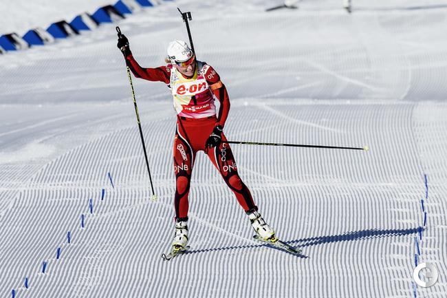 Тура БЕРГЕР на финишной прямой. Фото AFP.