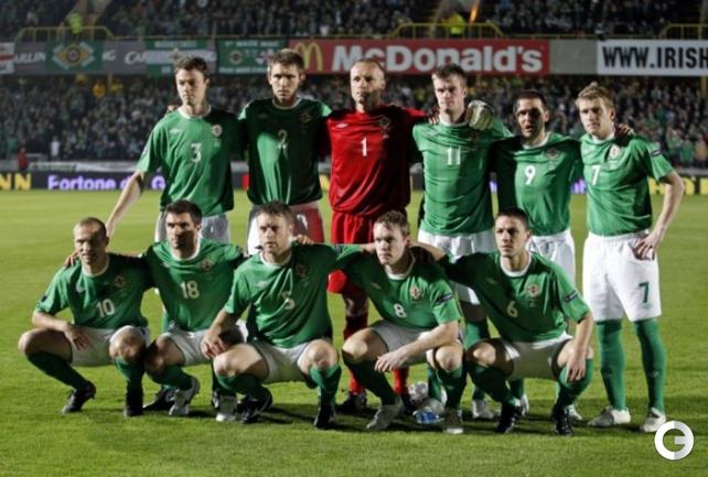 Сборная Северной Ирландии по футболу. Фото sportsworldreport.com.