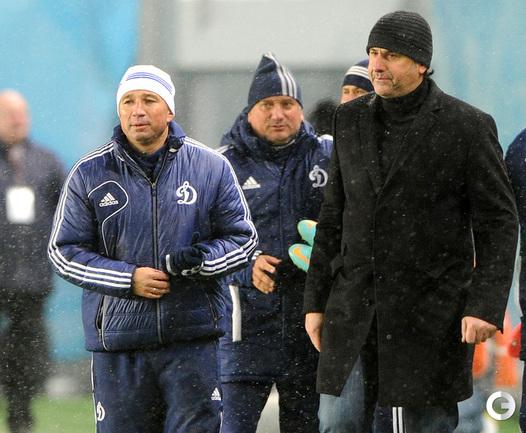 Дан Петреску и Миодраг Божович.
