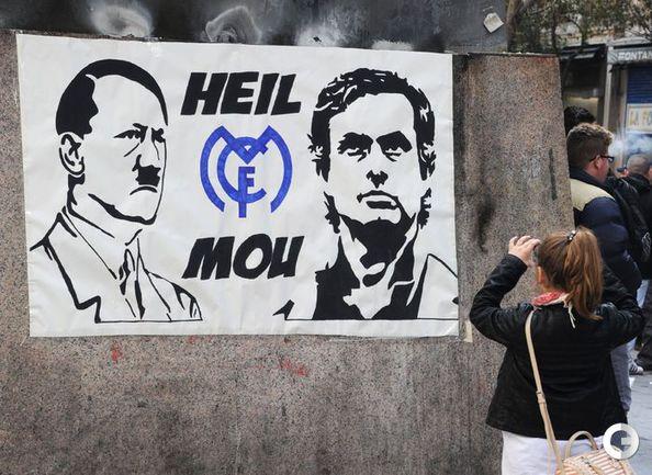Моуринью не обратил внимание на сравнение с Гитлером