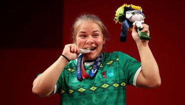 Тяжелоатлетка Гуреева принесла Туркмении первую медаль вистории Олимпийских игр