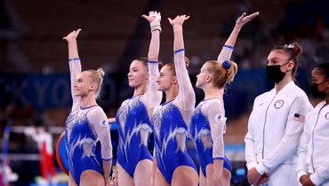 Женская сборная России поспортивной гимнастике выиграла золото вкомандном первенстве наОлимпиаде