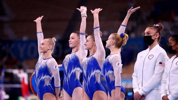 Сборная России поспортивной гимнастике. Фото Reuters