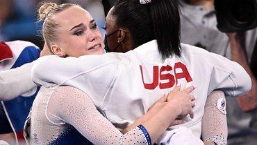 Американка Байлз поздравила российских гимнасток спобедой наОлимпиаде