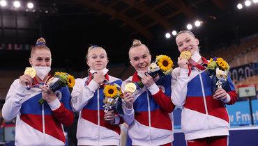 Женская сборная России поспортивной гимнастике. Фото Getty Images