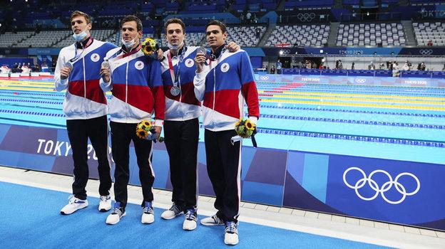 Олимпийские игры. Плавание. Мужская эстафета 4х200м. Как россияне завоевали серебро