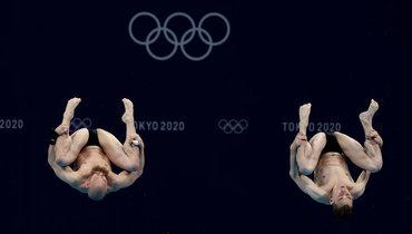 Кузнецов иШлейхер стали последними впрыжках вводу стрехметрового трамплина, китайцы взяли золото Олимпиады