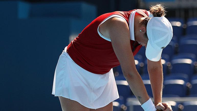 Анастасия Павлюченкова. Фото Getty Images
