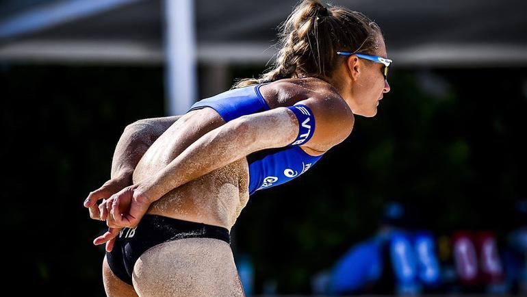 Светлана Холомина, пляжный волейбол.