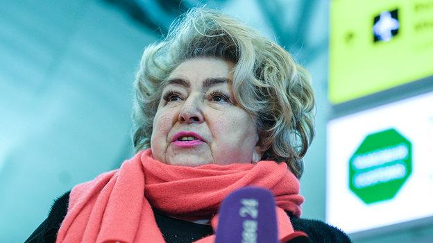 Татьяна Тарасова. Фото Дарья Исаева, «СЭ»