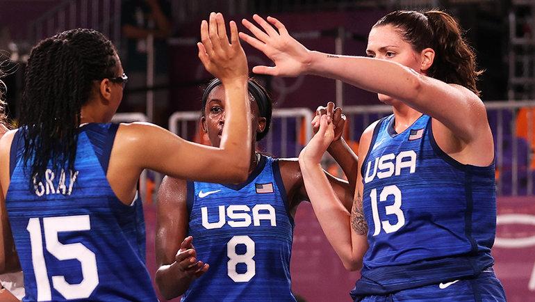 Американские баскетболистки. Фото Getty Images