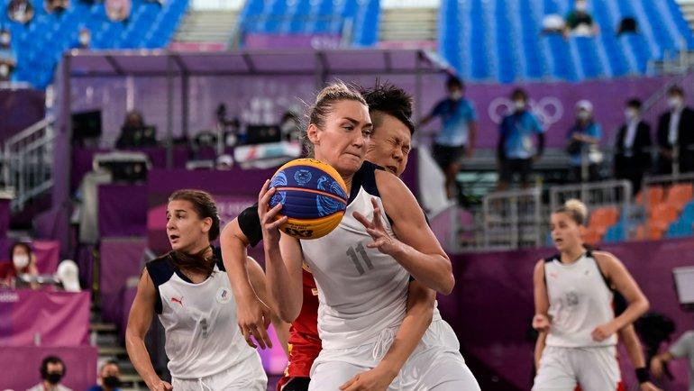Женская сборная России побаскетболу 3x3. Фото AFP