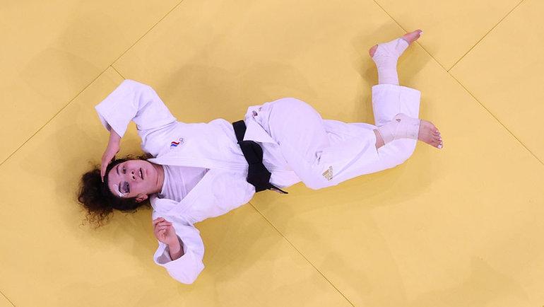 Мадина Таймазова после полуфинала. Фото Getty Images