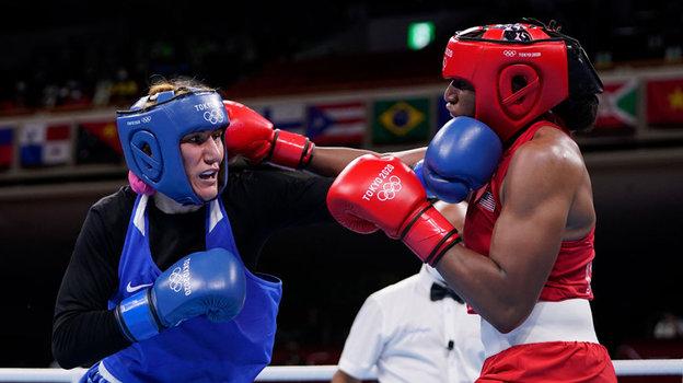 Земфира Магомедалиева против Наоми Грэм. Фото Getty Images