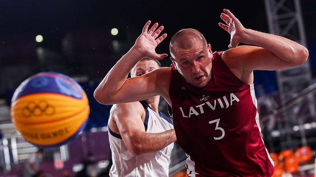 Российские баскетболисты вновь сыграют сЛатвией. Нотеперь вфинале. Фото Дарья Исаева, «СЭ» / Canon EOS-1D X Mark II