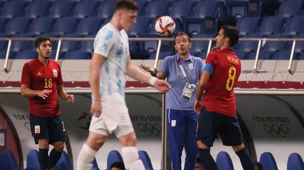 Сборная Аргентины невышла вплей-офф олимпийского турнира. Фото AFP