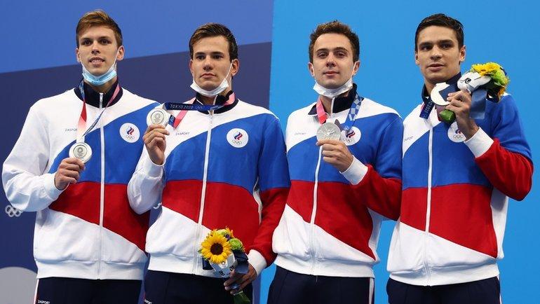 Иван Гирев, Мартин Малютин, Евгений Рылов иМихаил Довгалюк. Фото Reuters