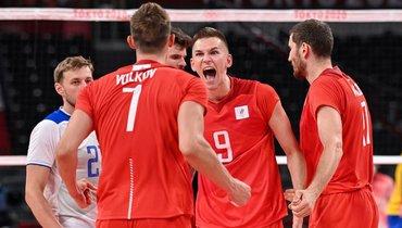 28июля. Токио. Россия— Бразилия— 3:0. Эмоции россиян после победы.