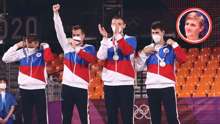 Мужская сборная России побаскетболу 3х3— серебряный призер Олимпиады-2020.