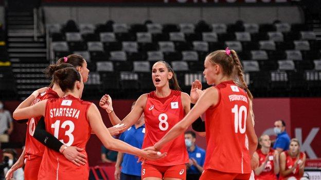 Женская сборная России. Фото AFP