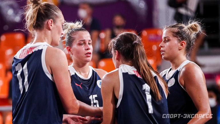 Баскетболистки 3x3 сборной России. Фото Дарья Исаева, «СЭ» / Canon EOS-1D X Mark II