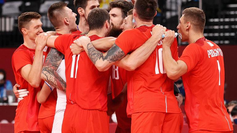 Мужская сборная России поволейболу. Фото Getty Images