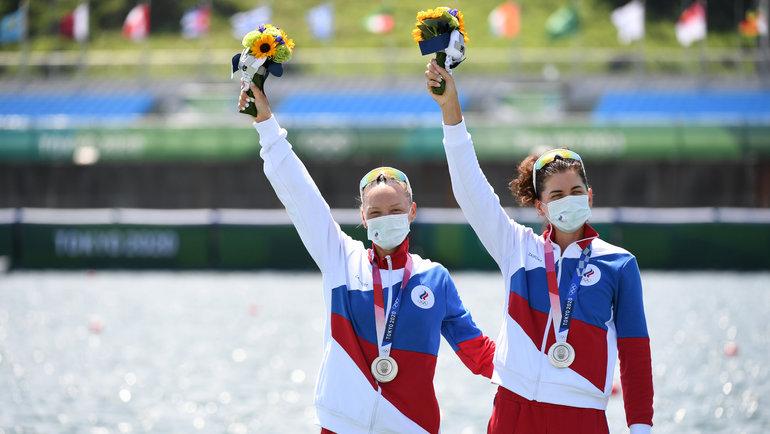 Василиса Степанова иЕлена Орябинская. Фото Reuters