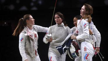 Российские рапиристки. Фото Reuters