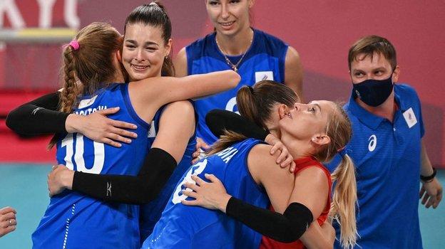 Олимпиада 2021 вТокио, волейбол, женщины: Россия— Китай— 3:2, обзор матча