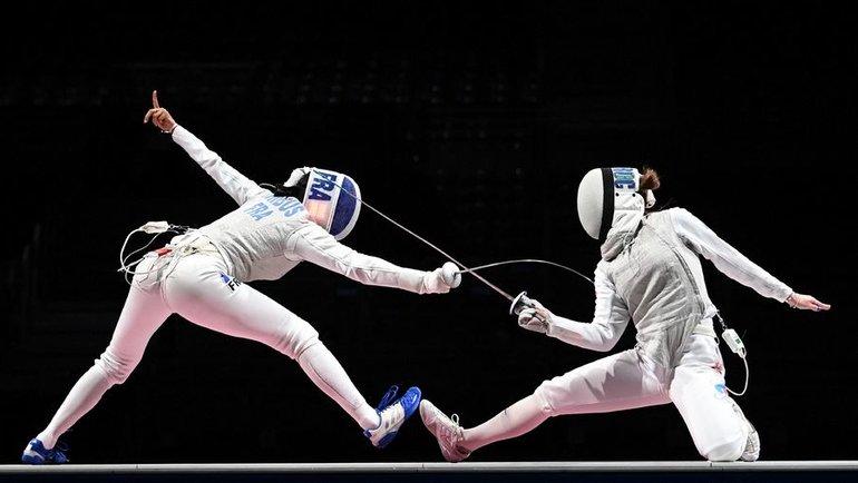 Марта Мартьянова (справа). Фото AFP