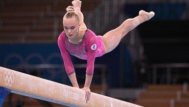Российская гимнастка Мельникова выиграла бронзу вмногоборье наОлимпиаде вТокио