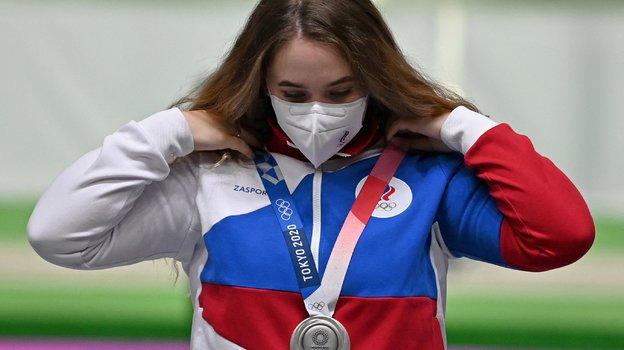 Анастасия Галашина. Фото AFP