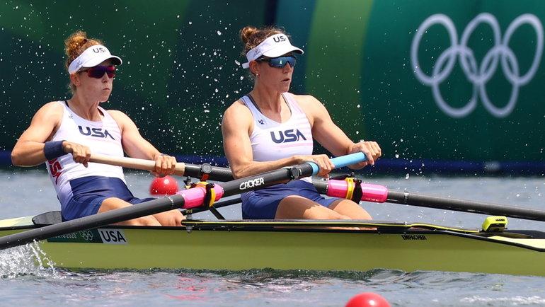 Меган Калмо (слева) иТрейси Эйссер. Фото Reuters