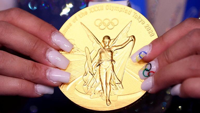 Золотая медаль олимпийских игр. Фото Reuters