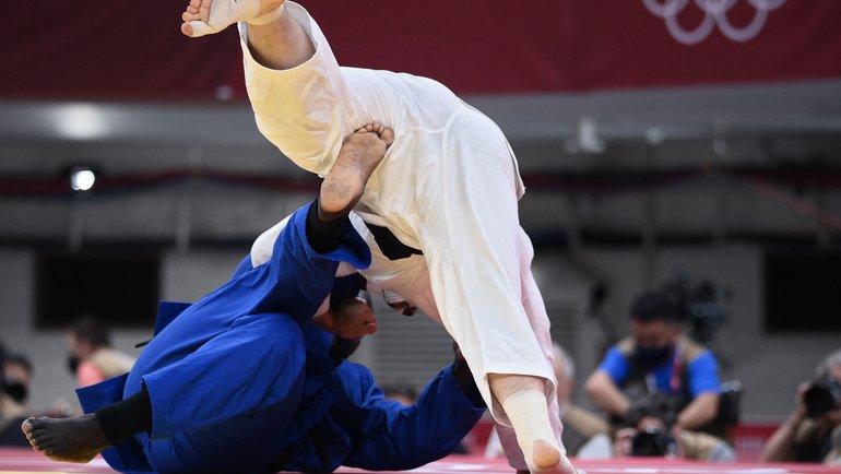 Тамерлан Башаев против Тедди Ринера. Фото AFP