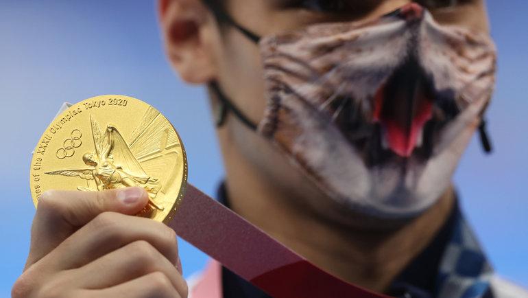 30июля. Токио. Евгений Рылов сосвоей второй золотой медалью Олимпиады-2020.