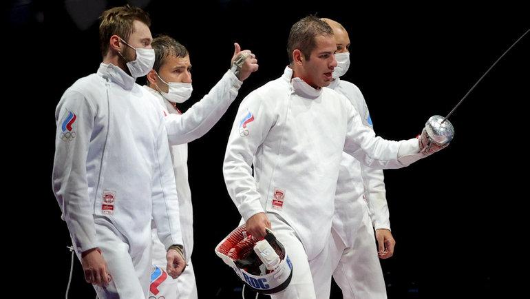 Сборная России пофехтованию вышла вфинал Олимпиады. Фото Reuters