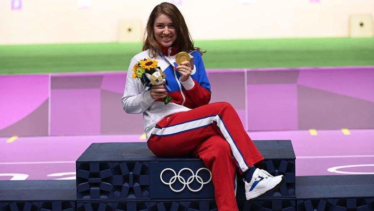 30июля. Виталина Бацарашкина сосвоей второй золотой олимпийской медалью.